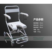 Topmedi Medical Equipments Folding Aluminum Shower Chair