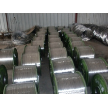 Ti and Ni Alloy Wire with High Purity
