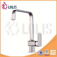 single lever chrome brass kitchen tap (B0003-C-C)