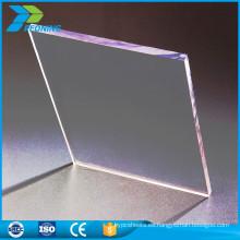 China resistencia a la corrosión 16 mm de espesor duro plástico transparente hoja de material para techos