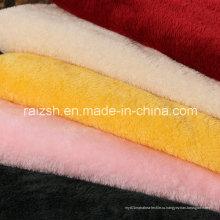 Полиэфирное укорочное окрашивание Beiji Velvet Fabric для одежды / игрушек