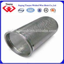 Uso de filtro de líquido y cilindro de filtro de forma de agujero redondo para filtros de agua