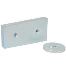 Leistungsfähige magnetische Neodym-Magneten mit kundengebundener Form