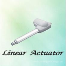 Actionneur linéaire étanche pour lit électrique