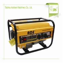 2kw 5kw 7kw pequeño generador portátil de gasolina con bajo ruido
