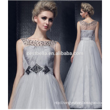 HOTSALL Silver Grey Elegant Noble plus size boutique evening dress