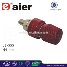 Manufacture binding post for speaker from china JS-555 binding post terminal 8mm
