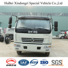8cbm Dongfeng Euro4 Automatic Rear Hopper Loading Garbage Compactor Truck
