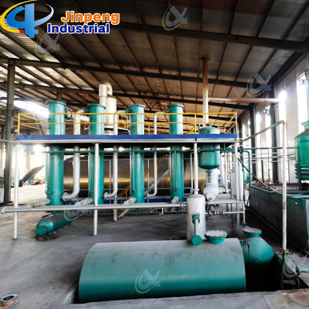 Waste Tire Pyrolysis to Oil Machine
