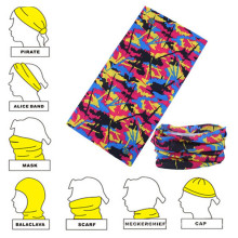 Faixa de cabeça de poliéster multifuncional personalizada