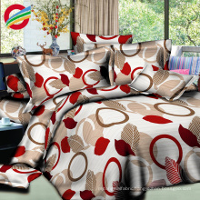 new design printed fabric 3d bedding sheet for 100% cotton