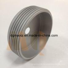 Precisión CNC torneado / giró las piezas con el hilo exterior (MQ714)