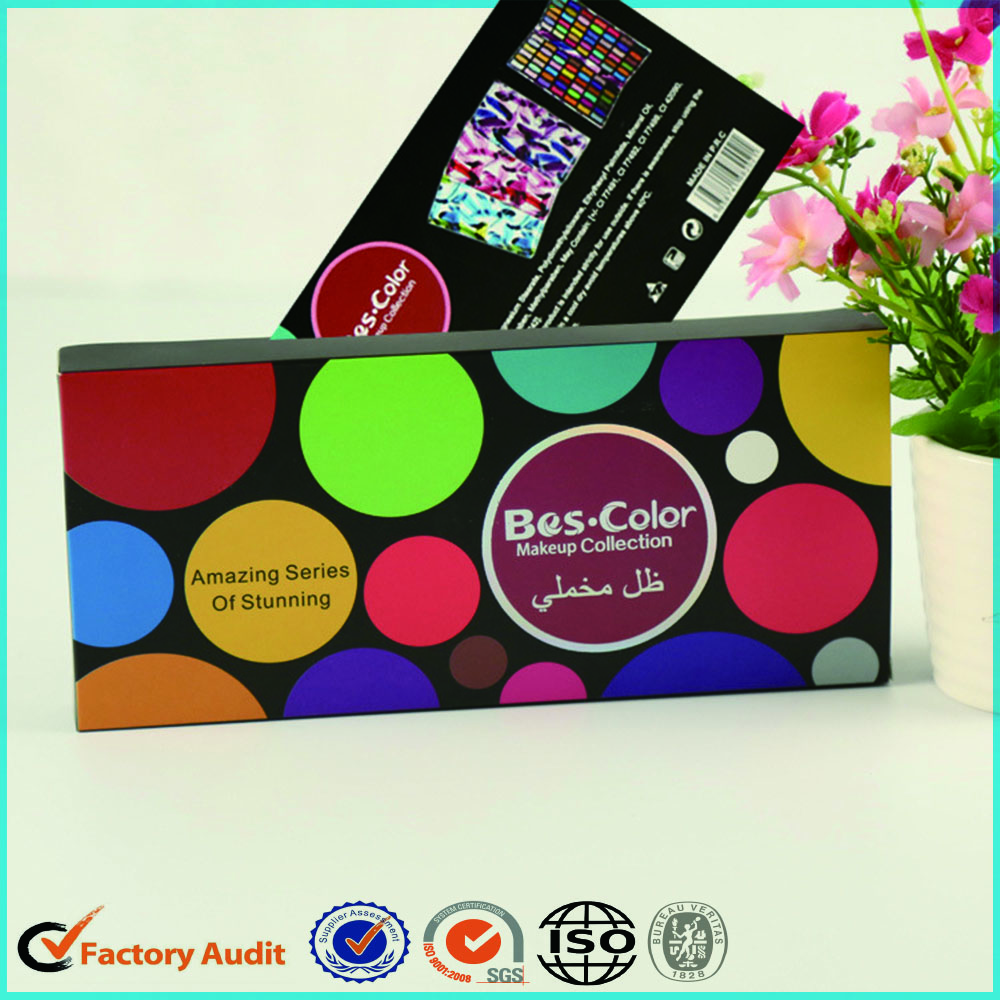 Makeup Eyeshadow Palette Packaging Box