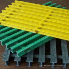 Reja pultruida de FRP / GRP, reja de la fibra de vidrio con de alta calidad