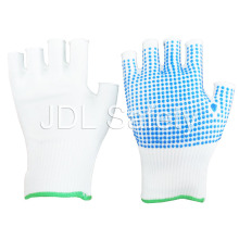 Nylon Glove with PVC Dotted Palm (S5105)