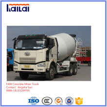 FAW Mixer Truck 6X4 10cube Mixer Truck for Slae