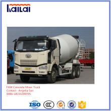 Caminhão do misturador do caminhão 6X4 10cube do misturador de FAW para Slae
