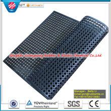 Anti Slip Rubber Mat, Drainage Rubber Mat Antibacterial Floor Mat Anti-Fatigue Mat