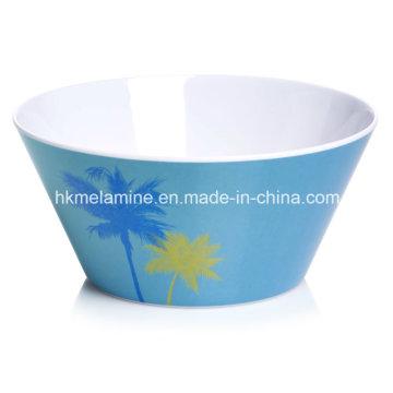 Tigela de salada de melamina 6 polegadas com logotipo