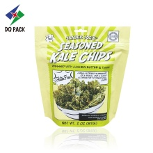 Chips doypack with zipper aluminum foil packaging bag