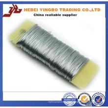 China 18 Calibre Gravata Wrie, Preto Recozido Obrigatório Fio 18 Calibre Fábrica