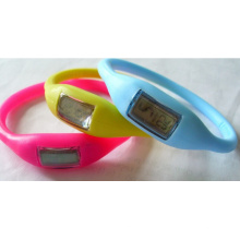 Whosale OEM Gift Jelly Silicone Slap Watch