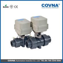Electric water pool ball valve plastic pvc valve