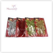 Großhandelsweihnachtsbaum-Dekoration-Verzierung 3PCS Schmetterlings-Weihnachtsdekor