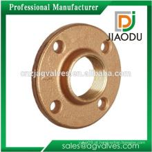 Taizhou fabricante baixo preço personalizado 11/2 polegada latão forjado gás natural flange acessórios de tubos