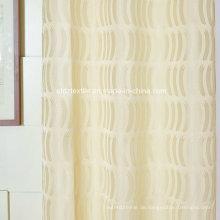 2016 Neuer 100% Polyester Jacquard Fenster Vorhang