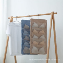 Door Closet Wardrobe Storage Bag Hanging Wall Organiser Handles Storage Bag