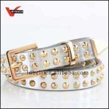 New design rivet pu belts