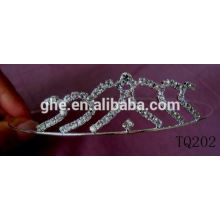 Novas faixas de moda em strass com tiara