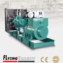 Дизельный генератор мощностью 1000 кВт без топливного бака на базе Cummins KTA38-G9