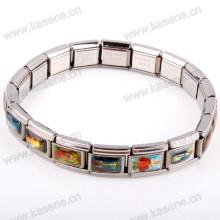 Chaîne de montre en métal, Bracelet alliage Saint Rosary