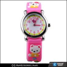 Relojes al por mayor de China, reloj de silicona para niños