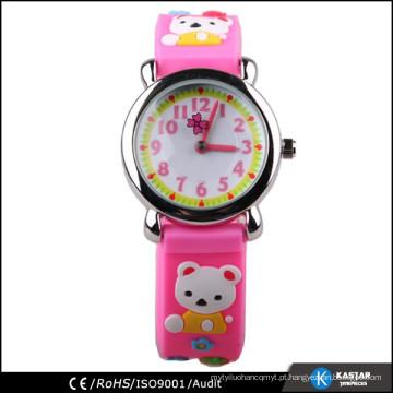Relógios por atacado da China, relógio do silicone do miúdo