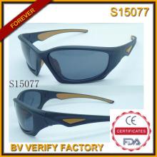 2015 gafas de sol deportivas nuevo más Cool con muestra gratis (S15077)