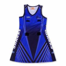 2015 neueste Mode Custom Full Printing Netball Kleid
