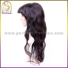 в Китае можем произвести 100 человеческих волос в наличии полный тонкий парики кожи