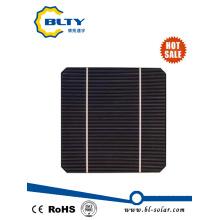156 * 156mm Célula solar poli monótona de bajo precio para panel solar