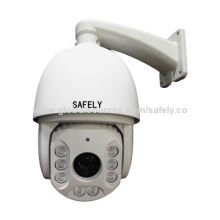700TVL Infrared Uniform Intelligent Dome Camera with 1/4-inch CCD Image Sensor