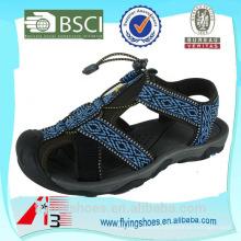 Nuevas sandalias planas del diseño sandalias del maasai de la cinta de la impresión de la alta calidad 2015
