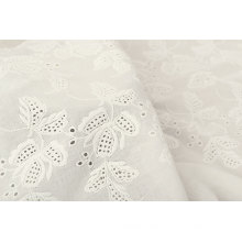 Cotton Embroidery Lace Fabric for Dress or Skirt Shirt