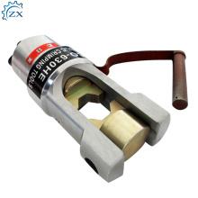 Herramientas de engarce de cable de batería de cobre de durabilidad Herramientas de engarzado hidráulico de Hp-120C