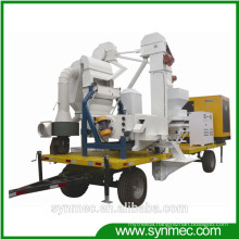 mobile seed cleaning and processing plant