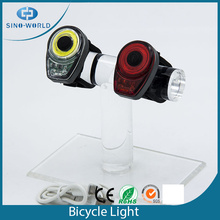Leading for USB Waterproof Bicycle Light Multifunctional COB Led usb led bike lamp export to Afghanistan Suppliers
