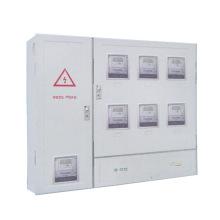 Caixa de medidor monofásico para medidores 6PCS