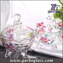 Lily Glass Candy Jar (GB1804LB/P)