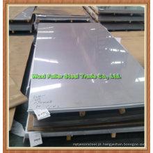 Placa de aço inoxidável AISI 904L